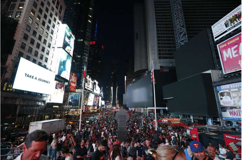 Thousands left in the dark during NYC power outage