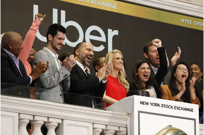 Uber posts biggest quarterly loss ever after stock payouts
