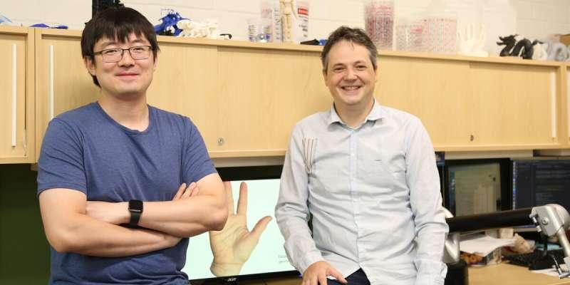 Virtual human hand simulation holds promise for prosthetics