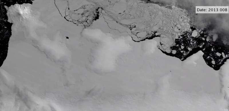 Warm ocean water attacking edges of Antarctica's ice shelves