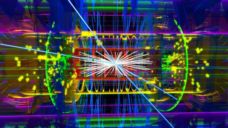 **ATLAS Experiment releases new search for Higgs boson interactions with the lightest charged lepton