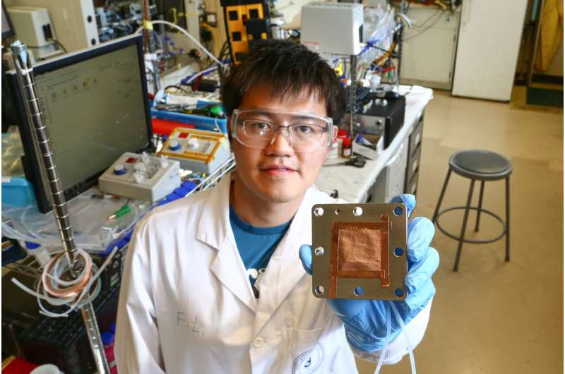 Researchers design an improved pathway to carbon-neutral plastics