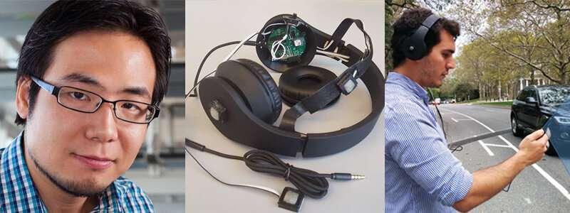 Researchers design headphones that warn pedestrians of dangers
