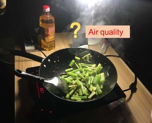 Scientists use a new method to track pollution from cooking