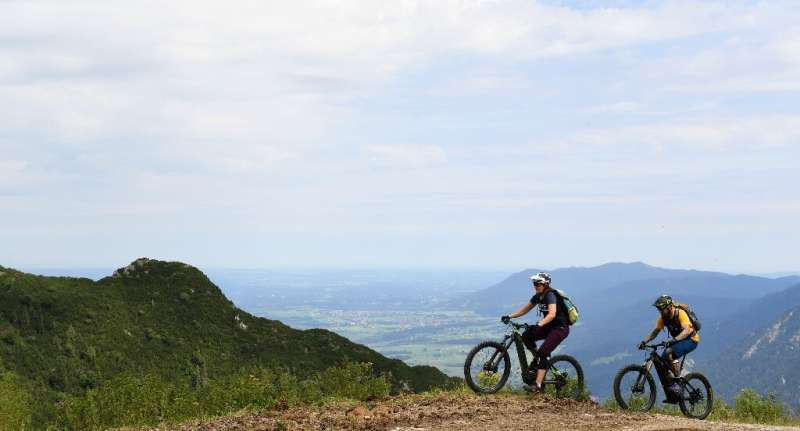 Environmental concerns have also been raised about the use of e-bikes on mountain paths