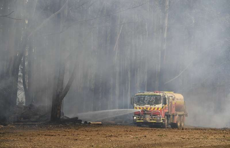 Firefighters have fanned out across the region, tackling hundreds of blazes