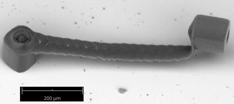 3-D printing technique accelerates nanoscale fabrication 1000-fold