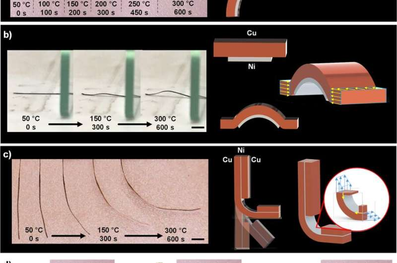 **4D printing multi-metal products with a desktop electrochemical 3D printer