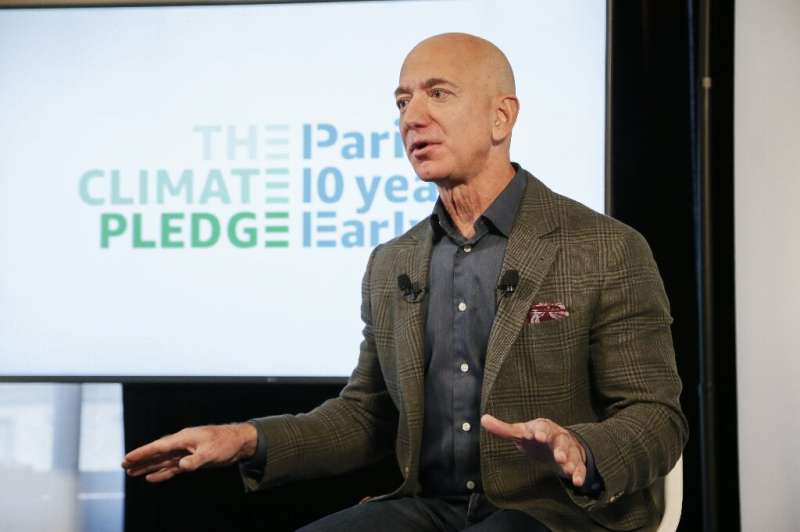 Amazon CEO Jeff Bezos announces the co-founding of The Climate Pledge, which aims to make the tech giant carbon neutral by 2040