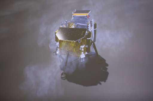 China lunar probe sheds light on the 'dark' side of the moon