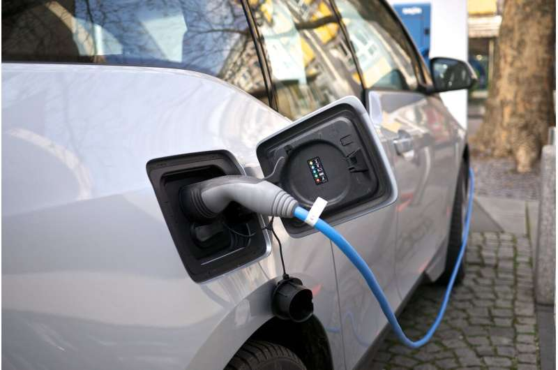 Electric vehicle adoption improves air quality and climate outlook
