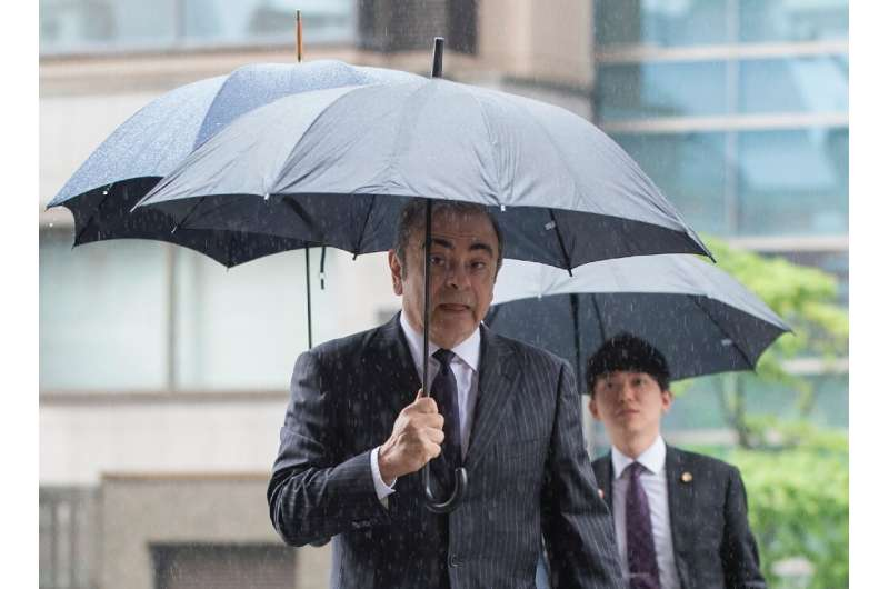 Former Nissan Motor boss Carlos Ghosn is seeing the car giant go through stormy times