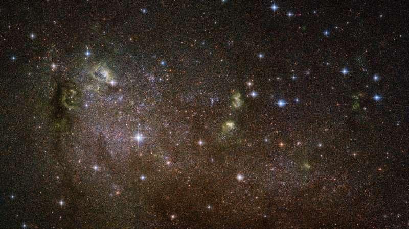 Hubble captures elusive, irregular galaxy