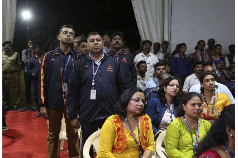 India locates lander lost on final approach to moon