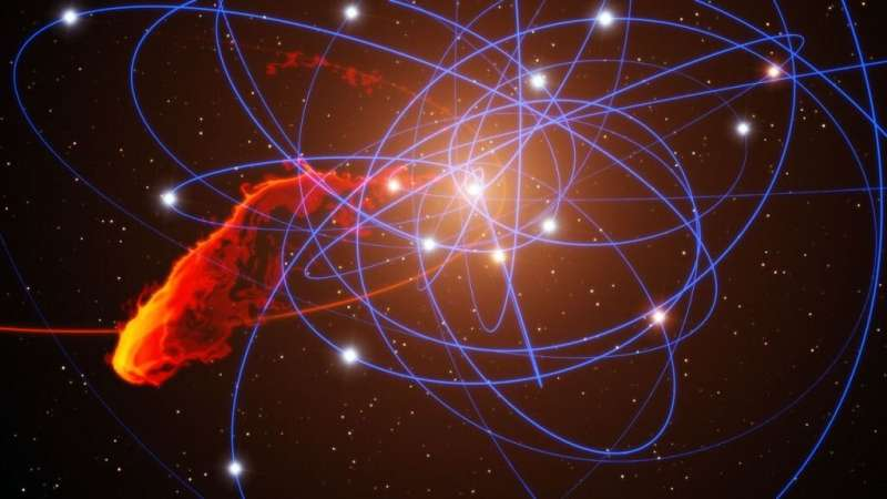 **Milky Way's black hole just flared, growing 75 times as bright for a few hours