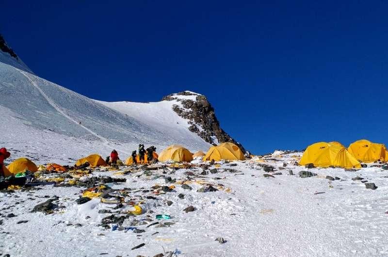 Mount Everest has been dubbed world's highest rubbish dump