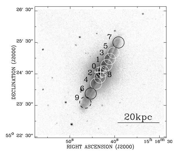 Research provides insights into molecular gas in the massive spiral galaxy NGC 5908
