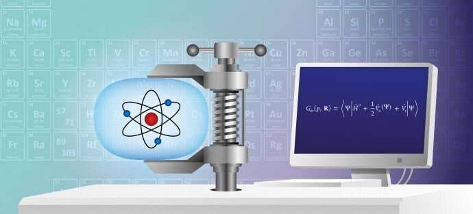 Rewriting the periodic table at high pressure