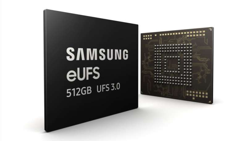 Samsung Electronics doubling current smartphone storage speed