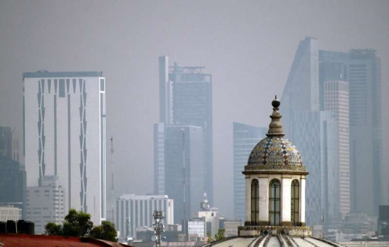 Scientists say breathing the air in Mexico City is like smoking between a quarter- and a half-pack of cigarettes a day