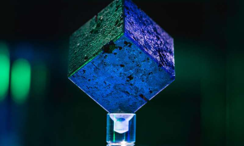 Searching for lost WWII-era uranium cubes from Germany