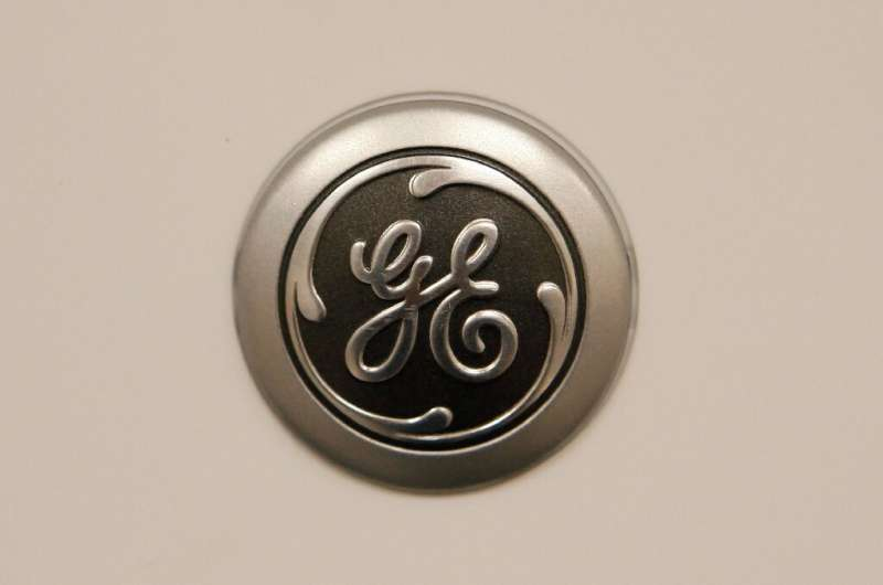Shares of General Electric rose after the company reported better-than-expected quarterly profits
