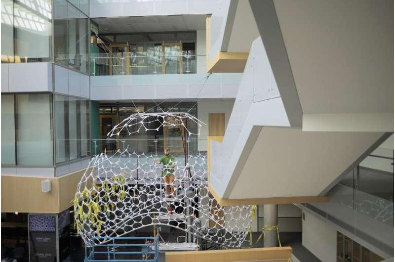 Smiles beam and walls blush: Architecture meets AI at Microsoft
