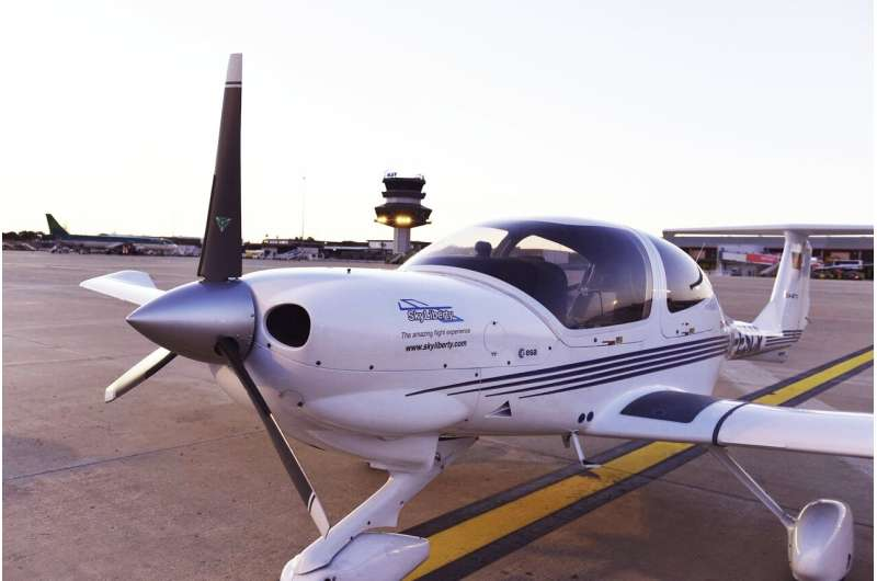 Space-enabled app for pilots takes to the skies