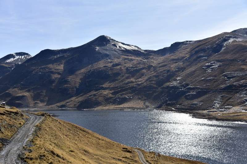 The Incachaca dam, which supplies the city of La Paz, Bolivia with water and took a hit after a 2016-2017 drought, is seen in La