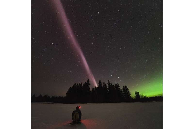 Scientists discover what powers celestial phenomenon STEVE