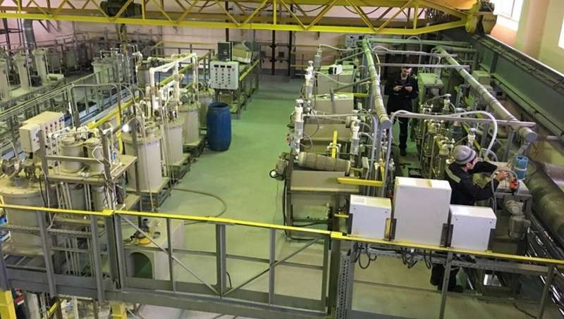 Scientists develop new technology for extracting non-ferrous and noble metals