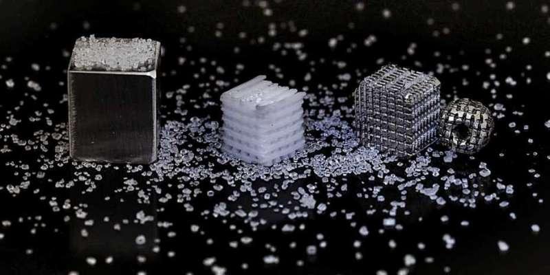 3-D printed salt template for bioresorbable bone implants