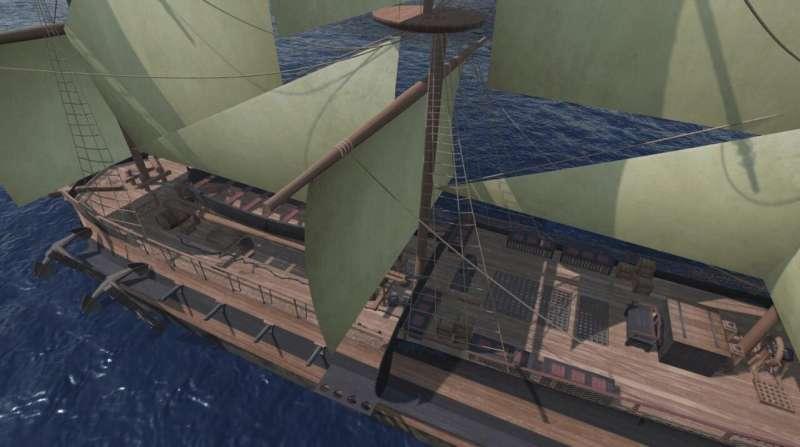 3D slave ship model brings a harrowing story to life