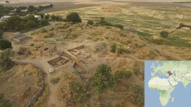 Burned buildings reveal sacking of ancient Turkish city 3,500 years ago