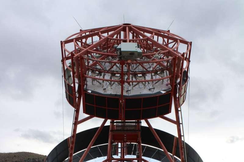 CTA Prototype Telescope, the Schwarzschild-Couder Telescope, Achieves First Light