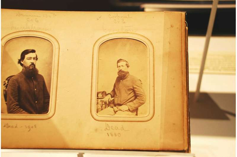 Facial recognition software to identify Civil War soldiers
