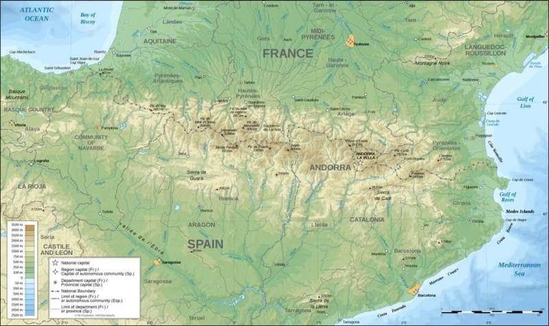 Microplastics have even been blown into a remote corner of the Pyrenees