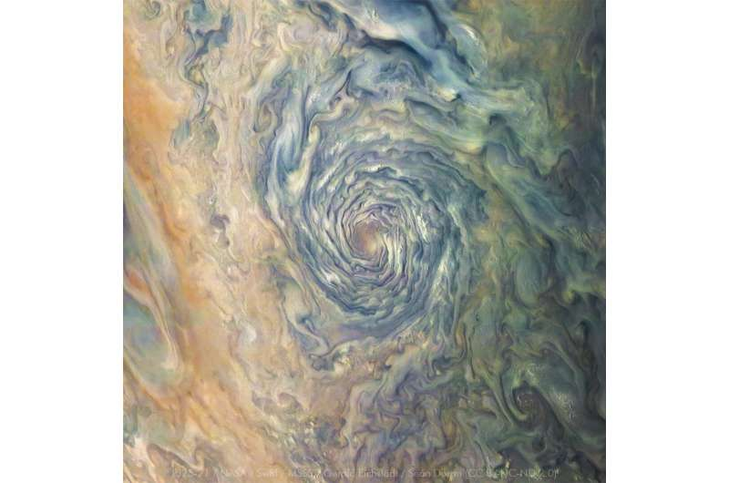 NASA's Juno navigators enable Jupiter cyclone discovery