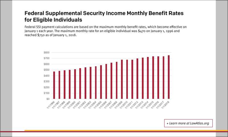 New Legal Data Provide Details on 22 Years of Federal and State Income Security Laws for Children with Disabilities