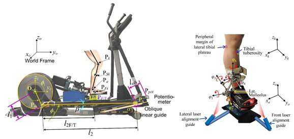 New study presents real-time biodynamic knee OA evaluation training robot
