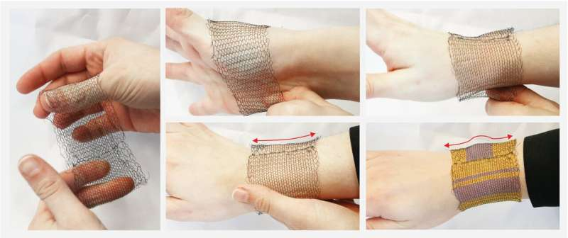 Research brief: Invention of shape-changing textiles powered only by body heat