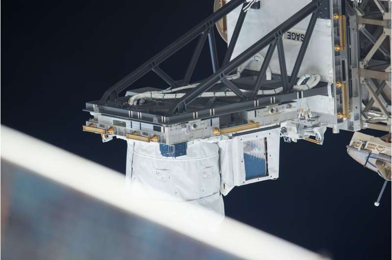 Space Station science looking at Earth