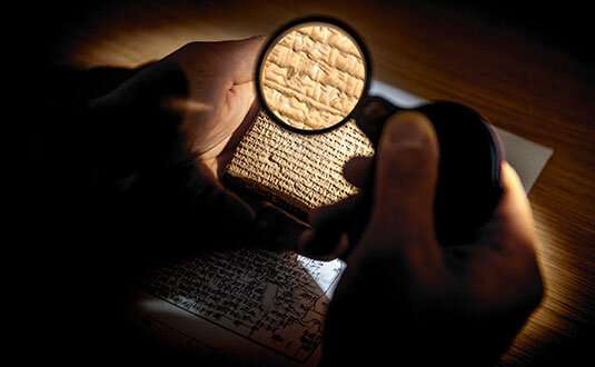 Using artificial intelligence to fill in gaps in ancient texts