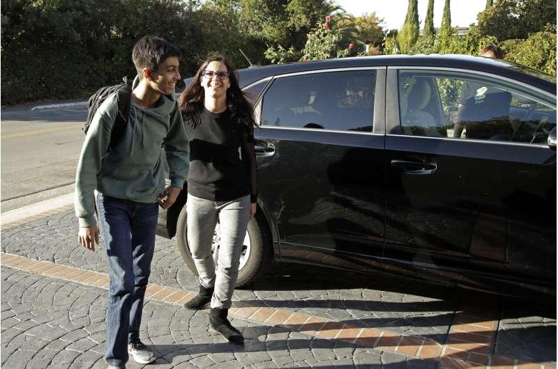 Where parents feel like chauffeurs, companies step in