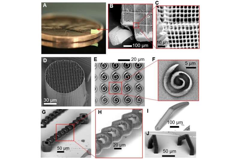 New technique increases 3-D printing speed by 1,000-10,000 times