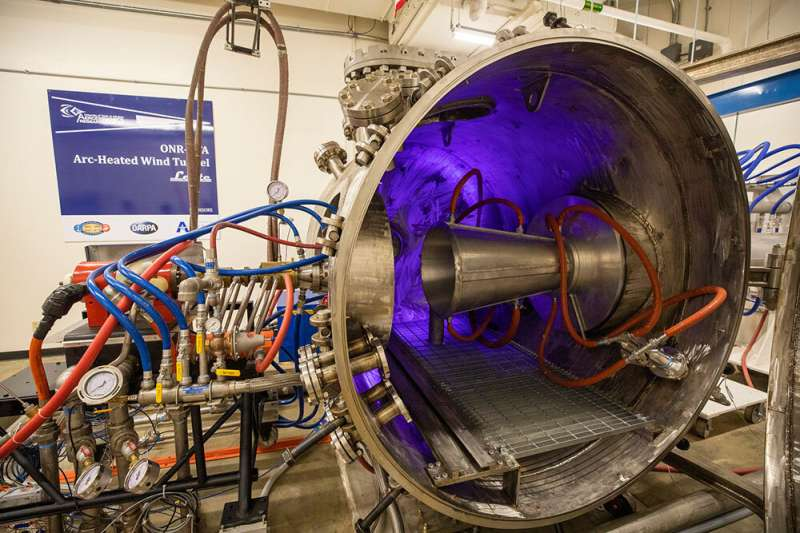 Researchers testing method to build temperature, heat-flux sensors for hypersonic vehicles