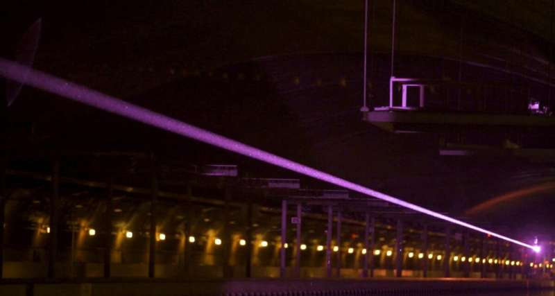 Researchers transmit energy with laser in 'historic' power-beaming demonstration