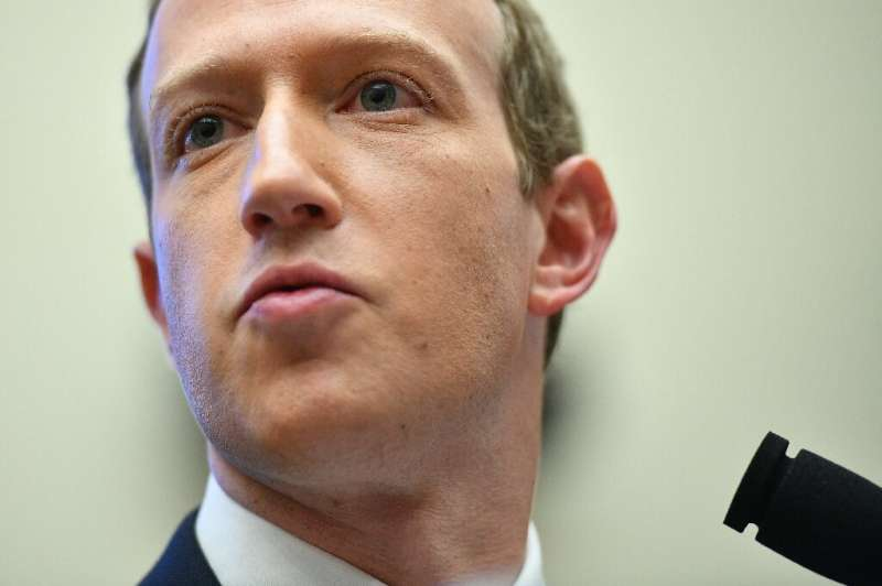 Facebook Chairman and CEO Mark Zuckerberg testifies before the House Financial Services Committee on October 23, 2019