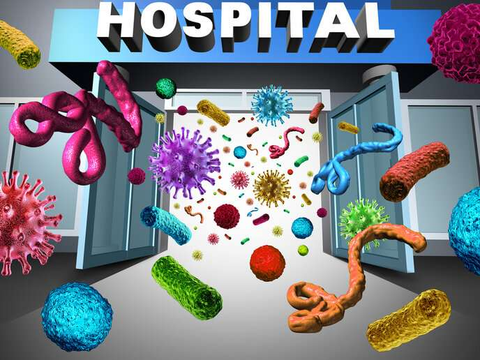 How to prevent the spread of germs in hospitals