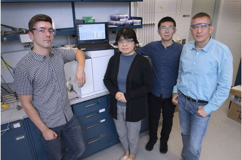 Machine-learning analysis of X-ray data picks out key catalytic properties